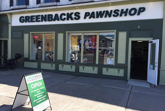 Home - Greenbacks Pawnshop